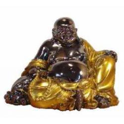 Happy Buddha 17 cm. Luksus