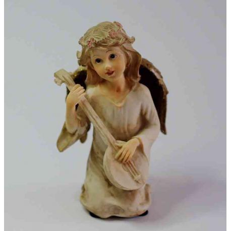 Engel som spiller mandolin