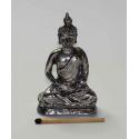 Sølvfarvet Buddha 07,5 cm. a.