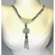 Grøn Jade halskæde.