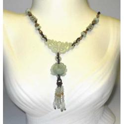 Jade Grøn halskæde.