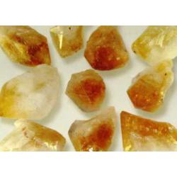Citrin krystal spidser