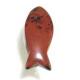 Mahogny Obsidian fiske vedhæng