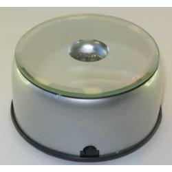 LED Lysboks med farve skift, 4 dioder, rund