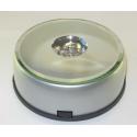LED Lysboks med farve skift, 7 dioder, rund