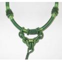 Halskæde, knyttet til vedhæng Grøn 1.