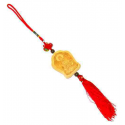 Kuan Yin amulet, træ