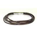 Læderarmbånd med magnetlås