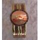 Kobber- messing luksus armbånd, d