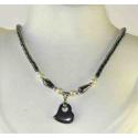 Hæmatit halskæde, c