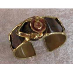 Kobber- messing luksus armbånd, E