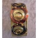 Kobber- messing luksus armbånd, c
