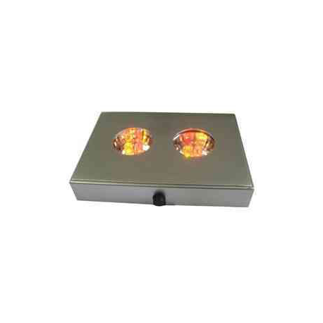 LED Lysboks med farve skift, 2 x 3 dioder