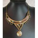 Kobber- messing luksus halskæde