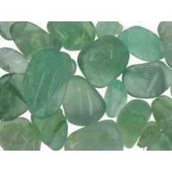 Fluorit, grøn lommesten