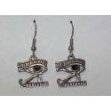 Horus øje øreringe