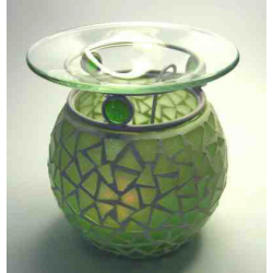 Aromateapi lampe, grøn