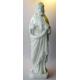 Kristusfigur, hvid marmor