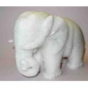 Elefant i marmor