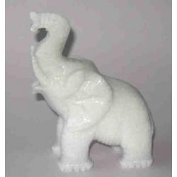Lykke elefant i marmor, a